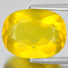 Unheated 4.85 Ct. Oval Shape 13.7 x 10.5 Mm. Natural Gemstone Yellow Opal Mexico