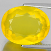 Unheated 7.56 Ct. Charming Oval Shape Natural Gemstone Yellow Opal Mexico