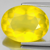 Unheated 8.54 Ct. Lovely Oval Shape Natural Gemstone Clean Yellow Opal Mexico