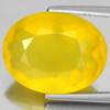 Unheated 8.12 Ct. Oval Shape Natural Gemstone Yellow Opal From Mexico
