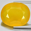 Unheated 18.59 Ct. Lovely Oval Shape Natural Gemstone Clean Yellow Opal Mexico