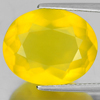 Unheated 9.49 Ct. Oval Shape Natural Gemstone Clean Yellow Opal From Mexico