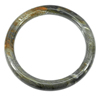 208.34 Ct. Natural Brown Petrified Wood Unique Pattern Bangle Diameter 62 Mm.