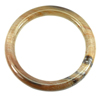 215.92 Ct. Delightful Natural Brown Petrified Wood Unique Pattern Bangle .