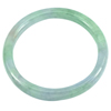 196.68 Ct. Natural Gemstone Multi-Color Jade Bangle Size74 x 58 x 8mm. Unheated