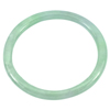 113.51 Ct. Diameter 56 mm. Natural Gemstone Green White Jade Bangle Unheated