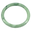 Unheated 201.58 Ct. Natural Gemstone Green Color Jade Bangle Diameter 59 mm.