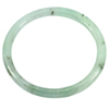129.85 Ct. Diameter 60 mm. Natural Gemstone Green Color Jade Bangle Unheated
