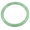 154.27 Ct. Diameter 59 mm. Natural Gemstone Green Color Jade Bangle Unheated