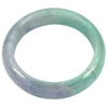 Unheated 460.01 Ct.Lovely Natural Gemstone Multi-Color Jade Bangle Diameter 61mm