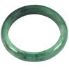 375.71 Ct. Nice Natural Gem Green Color Jade Bangle Diameter 62 mm. Unheated