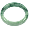 342.41 Ct. Beautiful Natural Gem Green Jade Bangle Diameter 59 mm. Unheated