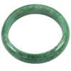 Unheated 278.61 Ct. Lovely Natural Gemstone Green Jade Bangle Diameter 56 mm.