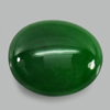 Unheated 1.50 Ct. Natural Gemstone Green Color Jade Oval Cabochon 8.5 x 7.4 Mm.