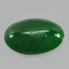 Unheated 2.54 Ct. Natural Gemstone Green Color Jade Oval Cabochon 11.6 x 7.7 Mm.