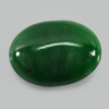 Unheated 2.29 Ct. Natural Gemstone Green Color Jade Oval Cabochon 10.3 x 8 Mm.
