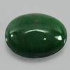 Unheated 2.25 Ct. Natural Gemstone Green Color Jade Oval Cabochon 9.9 x 7.8 Mm.