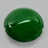 Unheated 2.04 Ct. Natural Gemstone Green Jade Oval Cabochon Size 8.4 x 8 Mm.