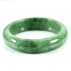349.51 Ct. Natural Gemstone Green Jade Bangle Size 75 x 58 x 15 Mm. Unheated