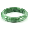 252.82 Ct. Natural Gemstone Green Jade Bangle Size 70 x 52 x 13 Mm. Unheated