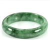 298.97 Ct. Natural Gemstone Green Jade Bangle Size 73 x 57 x 14 Mm. Unheated