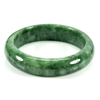 330.20 Ct. Natural Gemstone Green Jade Bangle Size 75 x 57 x 15 Mm. Unheated