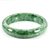Unheated 274.57 Ct. Natural Gemstone Green Jade Bangle Size 72 x 57 x 13 Mm.
