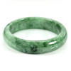 Unheated 302.53 Ct. Natural Gemstone Green Jade Bangle Size 72 x 57 x 15 Mm.