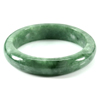 292.43 Ct. Natural Gemstone Green Jade Bangle Size 78 x 57 x 14 Mm. Unheated