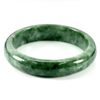 Unheated 264.31 Ct. Natural Gemstone Green Jade Bangle Size 77 x 57 x 14 Mm.