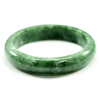 Unheated 255.58 Ct. Natural Gemstone Green Jade Bangle Size 72 x 58 x 12 Mm.