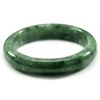 287.71 Ct. Natural Gemstone Green Jade Bangle Size 73 x 56 x 14 Mm. Unheated