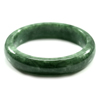 353.10 Ct. Natural Gemstone Green Jade Bangle Size 75 x 57 x 15 Mm. Unheated
