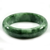 314.05 Ct. Natural Gemstone Green Jade Bangle Size 73 x 57 x 14 Mm. Unheated