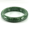 334.02 Ct. Natural Gemstone Green Jade Bangle Size 75 x 58 x 15 Mm. Unheated