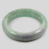 389 Ct. Size79x60x16Mm. Natural Gemstone Multi-Color Jade Bangle Unheated