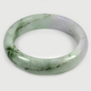414 Ct. Size80x62x16Mm. Natural Gemstone Multi-Color Jade Bangle Unheated
