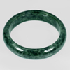 Unheated 404.82 Ct. Natural Gemstone Green Color Jade Bangle Diameter 65 Mm.