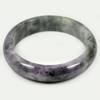Unheated 419.38 Ct. Natural Gemstone Multi-Color Jade Bangle Size 80x64x16 Mm.