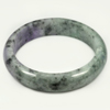 Unheated 396.85 Ct. Natural Gemstone Multi-Color Jade Bangle Size 80x65x16 Mm.