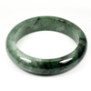 Unheated 449.46 Ct. Natural Gemstone Green Jade Bangle Size 80 x 63 x 17 Mm.