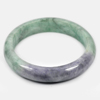 Unheated 364.03 Ct. Natural Gem Multi-Color Jade Bangle Size 80 x 65 x 15 Mm.