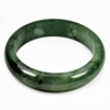 Unheated 389 Ct. Natural Gemstone Green Jade Bangle Size80x62x15Mm.