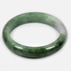 Unheated Gemstone 314 Ct. Natural Multi-Color Jade Bangle Size 76 x 60 x 14 Mm.