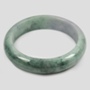 389 Ct. Size80x63x16Mm. Natural Gemstone Multi-Color Jade Bangle Unheated