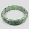 389 Ct. Size80x65x16Mm. Natural Gemstone Green Color Jade Bangle Unheated