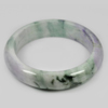 439 Ct. Size 80x63x16 Mm. Natural Gemstone Multi-Color Jade Bangle Unheated