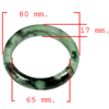 421.56 Ct. Natural Gemstone Green Jade Bangle Unheated Size 80 x 65 x 17 Mm.