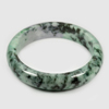 Unheated 390.79 Ct. Natural Gemstone Multi-Color Jade Bangle Size 80x65x15 Mm.