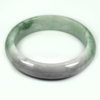 Unheated 380.76 Ct. Natural Gem Multi-Color Jade Bangle Size 80 x 63 x 16 Mm.